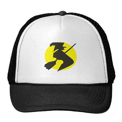 Halloween flying witch flying witch mesh hats