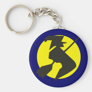 Halloween flying witch flying witch key chains