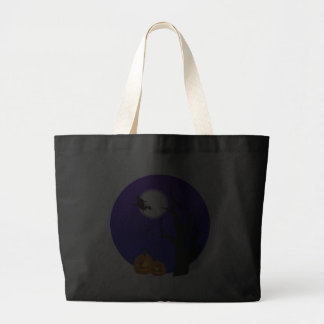 Halloween Flying Witch Trick or Treat Bag