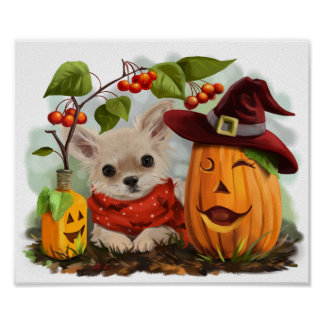 Halloween for Chihuahuas Poster