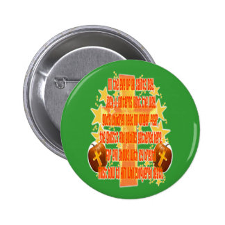 Halloween for Christians (Poem) Pinback Button