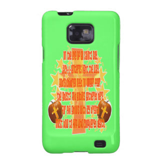 Halloween for Christians (Poem) Galaxy S2 Cases