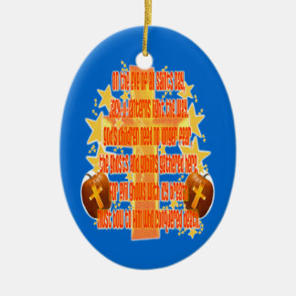 Halloween for Christians (Poem) Ornament