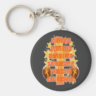 Halloween for Christians (Poem) Key Chains