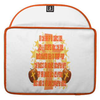 Halloween for Christians (Poem) MacBook Pro Sleeves