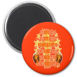 Halloween for Christians (Poem) Magnet