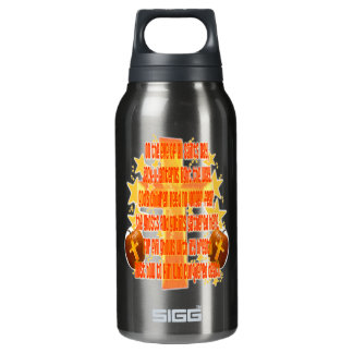 Halloween for Christians (Poem) 10 Oz Insulated SIGG Thermos Water Bottle