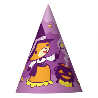 Halloween Fox Witch Summoning Candy Party Hat