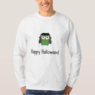 Halloween Frankenstein Owl T-shirt