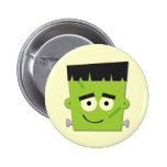 Halloween Frankenstein T-shirts and Gifts Pinback Button