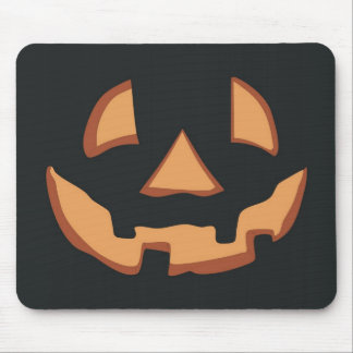Halloween - free style until face mouse pad