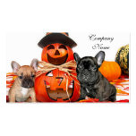 Halloween French Bulldogs Pack Of Standard Business Cards