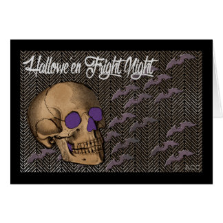 Halloween Fright Night Greeting Card