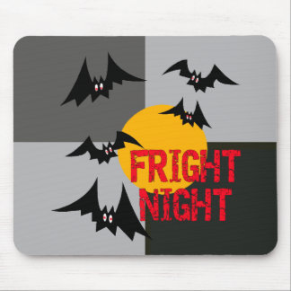 Halloween Fright Night Mouse Pad