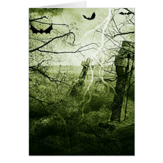 Halloween Fright Night Note Card