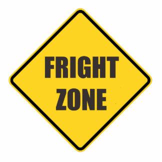 Halloween Fright Zone Photosculpture Cutout Standing Photo Sculpture