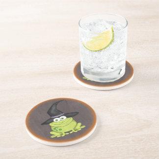 Halloween Frog Drink Coaster