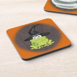Halloween Frog Drink Coasters