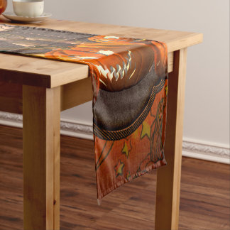 Halloween , funny mummy short table runner
