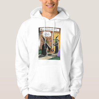 Halloween Funny Witches Trick or Treat Hooded Sweatshirt