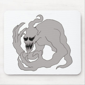 Halloween Ghost Art Mouse Pad