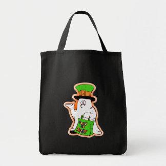Halloween Ghost Bag (Orange)