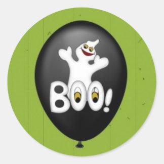 Halloween Ghost Balloon sticker