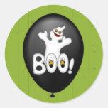 Halloween Ghost Balloon sticker Sticker