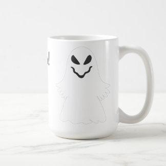 Halloween  Ghost Basic White Mug