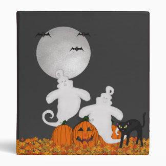 Halloween Ghost Binder