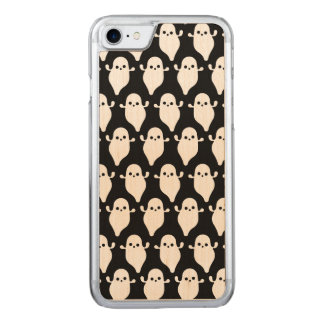 Halloween Ghost Boo Boo Pattern Art Carved iPhone 8/7 Case