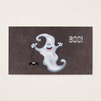 Halloween Ghost Boo Business Card