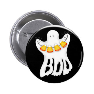 Halloween ghost boo button