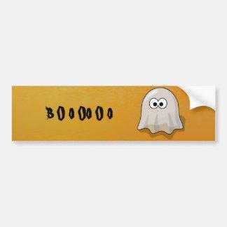 Halloween ghost car bumper sticker