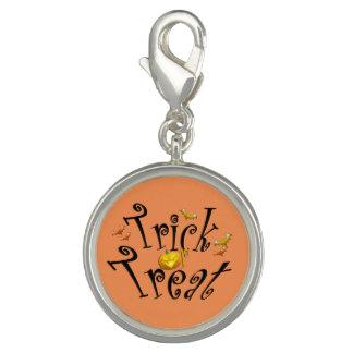 Halloween Ghost Charm Bracelet