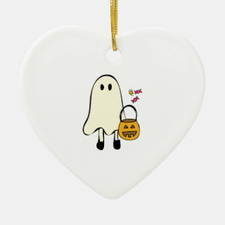 Halloween Ghost Christmas Ornament