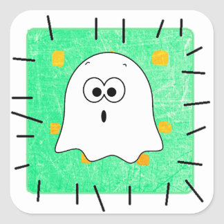 Halloween Ghost Cute Patch Stickers
