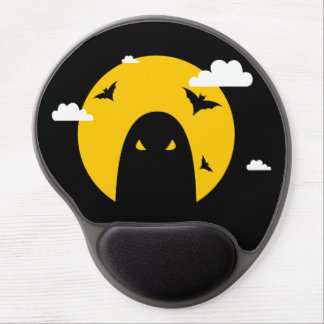 Halloween ghost gel mouse pad