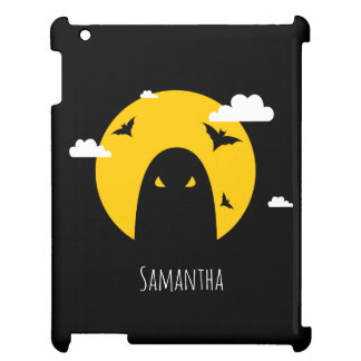 Halloween ghost iPad case