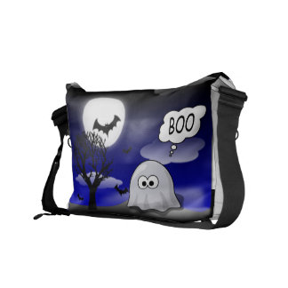 Halloween Ghost Messenger Bags