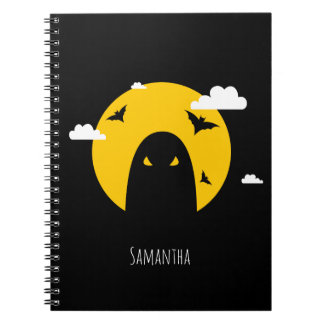 Halloween ghost notebooks