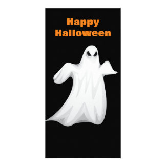 Halloween Ghost Picture Card