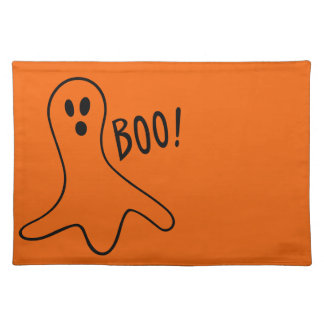 Halloween Ghost Placemat