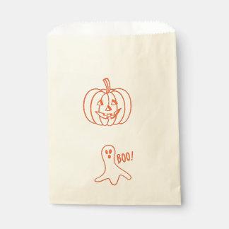 Halloween Ghost Pumpkin 4Erin Favour Bags