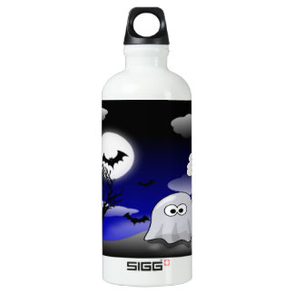 Halloween Ghost SIGG Traveller 0.6L Water Bottle