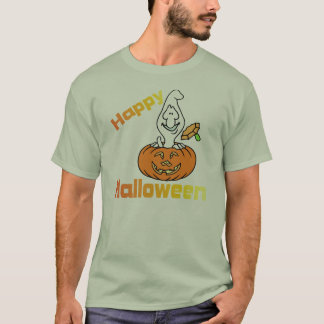 Halloween Ghost T-Shirt
