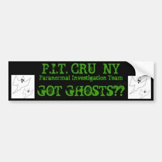 halloween-ghost-template, halloween-ghost-templ... bumper stickers