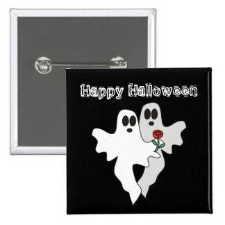 Halloween Ghosts Button