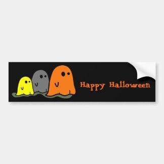 Halloween Ghosts Cute Bumper Sticker