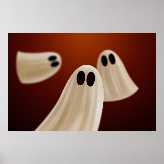 Halloween Ghosts Poster